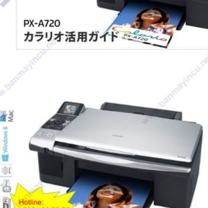 Máy in EPSON Colorio PX-A720