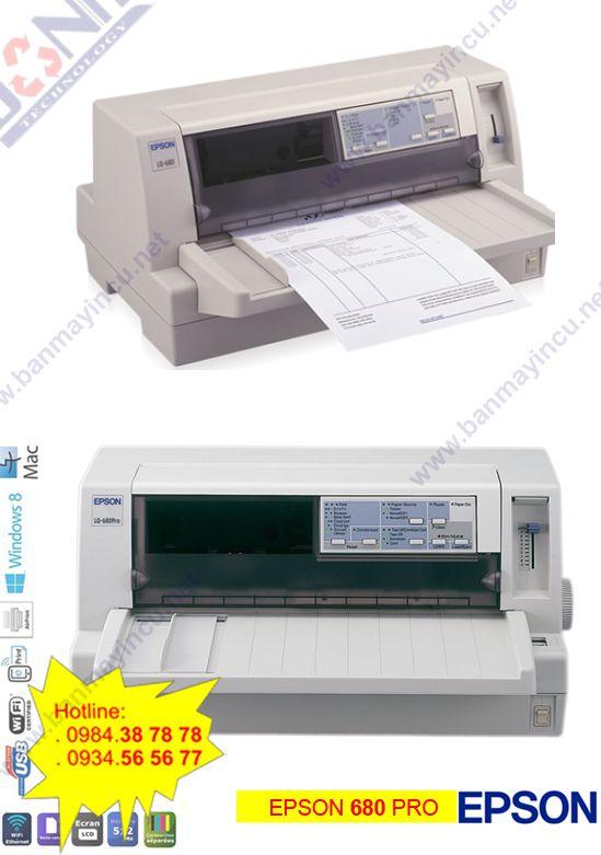 Máy in hóa đơn EpSon LQ-680 Pro
